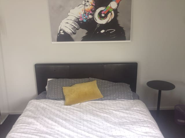 Warm, new private room - Queenstown - House