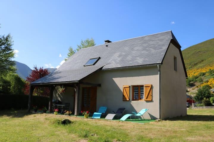 jolie maison en vallée d'Aure classée 4 ****