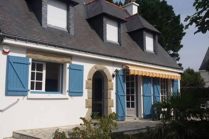 Maison de famille à Larmor Baden