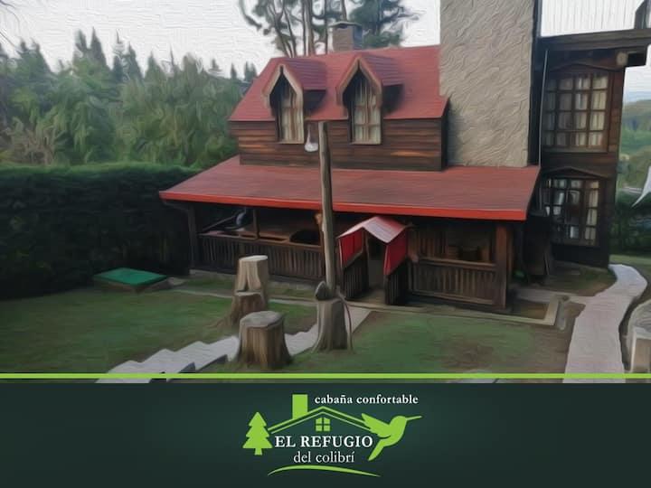 El Refugio del Colibrí. Cabaña