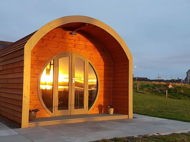 Hebrides Bothy luxury glamping pod near Stornoway