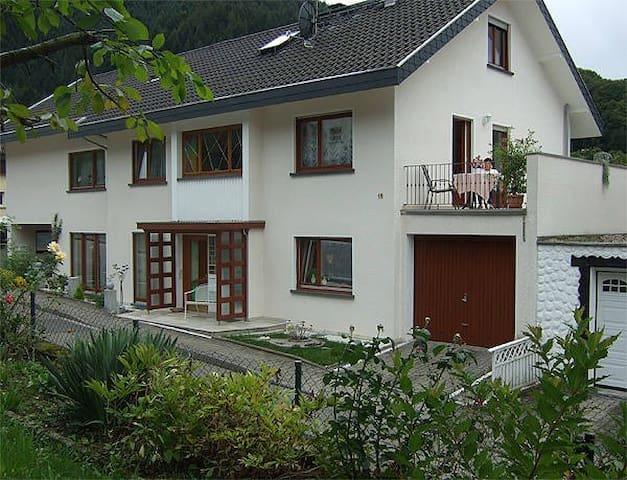 Gästehaus und Radfahrerunterkunft Dresel, (Weisenbach), Appartement für 1 Person mit externem Badezimmer