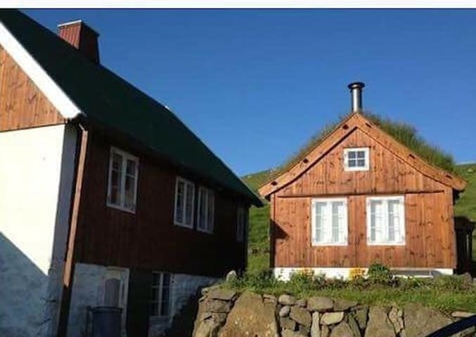 Cozy house in silent village - Elduvík - Huis
