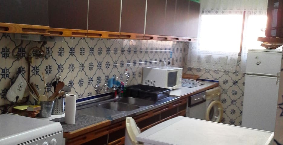 Cosy kitchen fully equipped