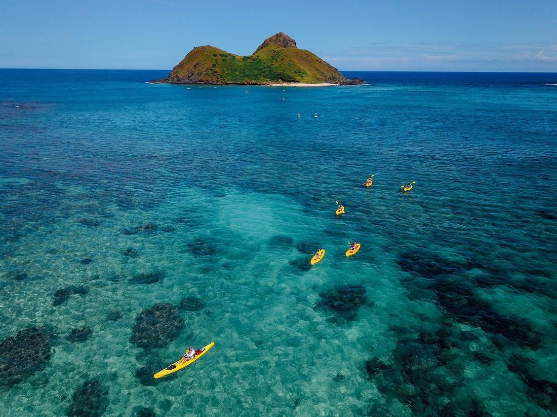 Kayak Et Snorkeling Aux Iles Mokulua