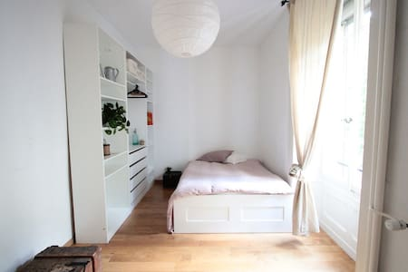 Nice room in Plainpalais - Genewa