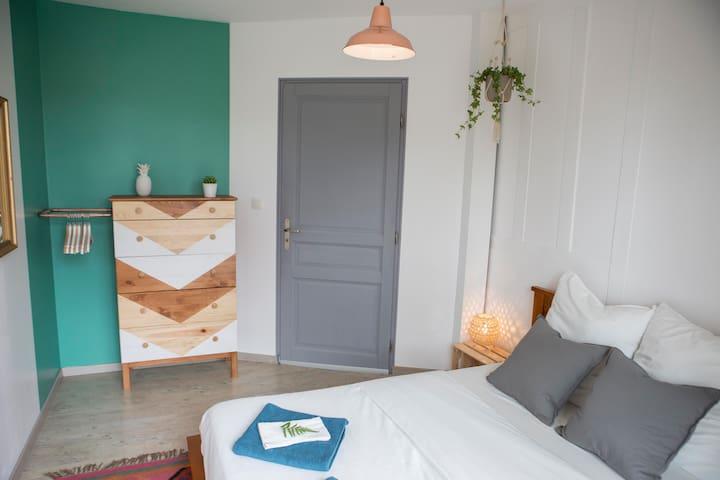 Double room with balcony in Ocean Garden B&B Villa