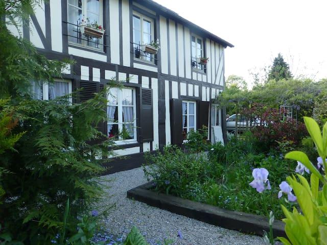 Appartement dans une maison de charme en Normandie