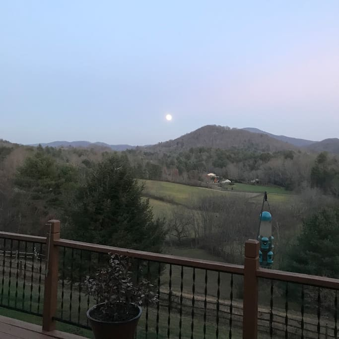 View from deck/patio