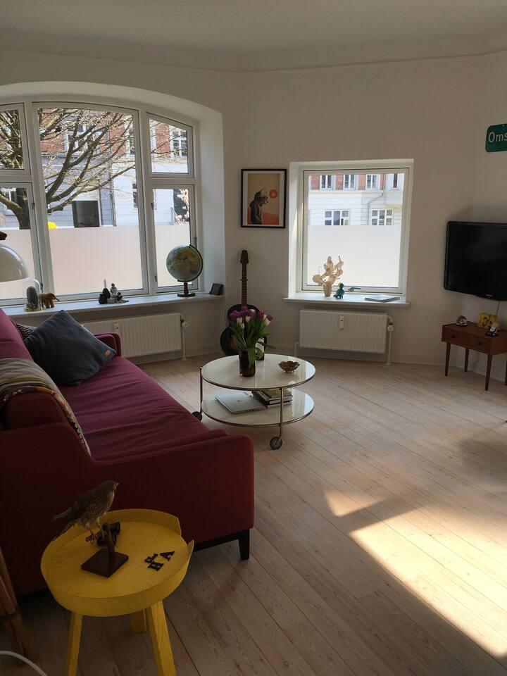 Dejlig lejlighed i hjertet af Århus