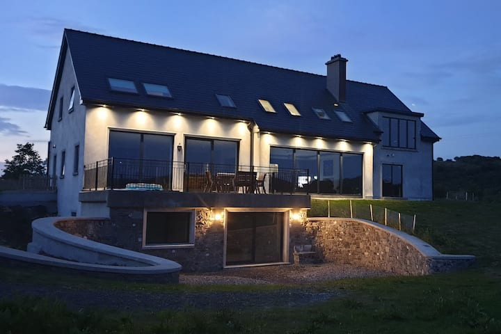 A luxurious home with amazing views near Westport