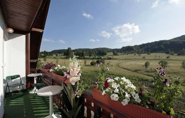 Hotel with Terrace,Restaurant & Mountain View - Jezerce - Inap sarapan