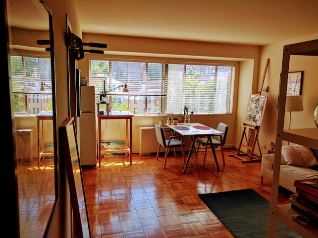 Spacious studio near Adams Morgan