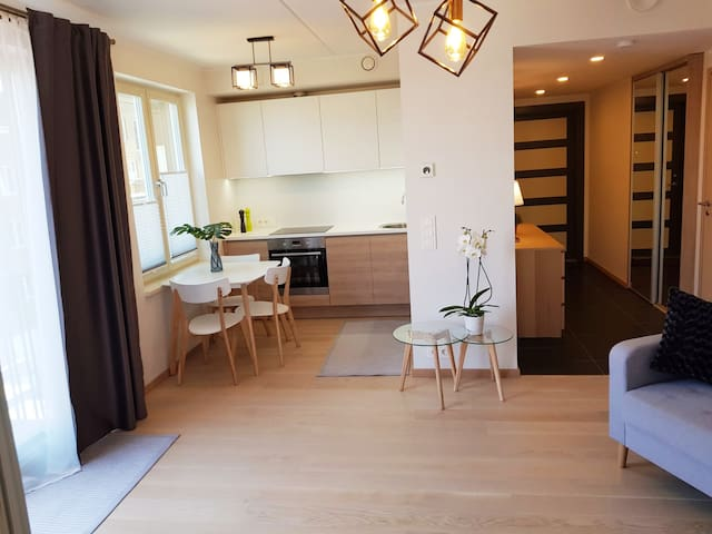 Cozy flat in the City next to Hilton +free parking