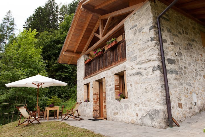 Chalet in the natural park Adamello Brenta - Caderzone