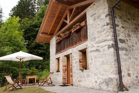 Chalet in the natural park Adamello Brenta - Caderzone - Cabana