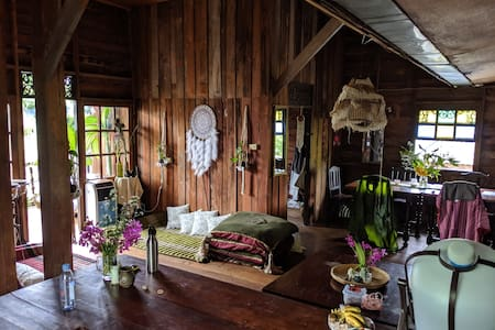 Stunning Thai wooden sanctuary in the heart of Pai