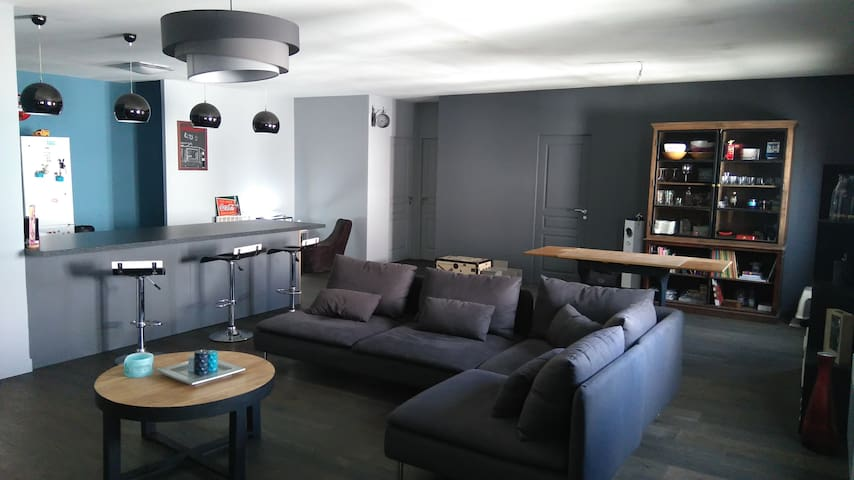 Appartement style loft - Carvin - Apartament