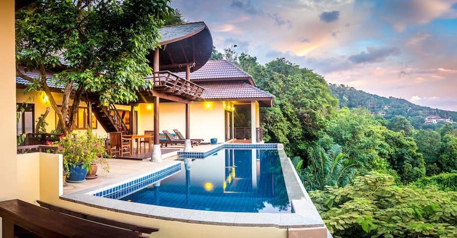 Luxury Pool Villa With Seaview - Koh Lanta - Casa