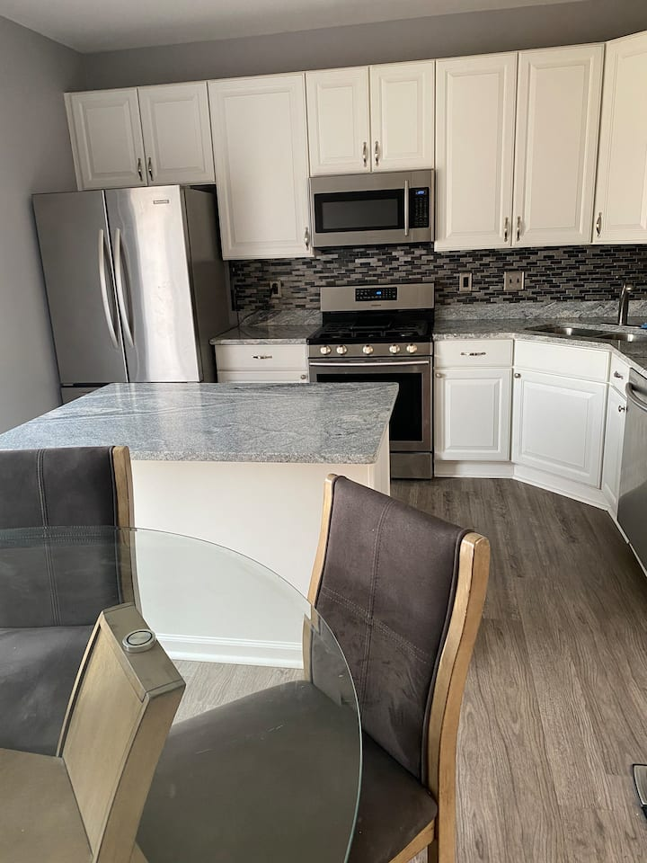 This brownstone style condo in Canton is available