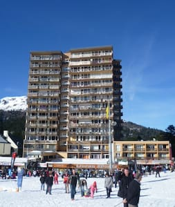 studio cœur station, pied de pistes de skis - Laveissière - Apartament