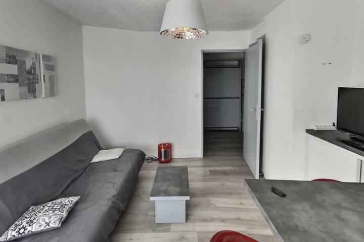 Appartement rénové avec parking