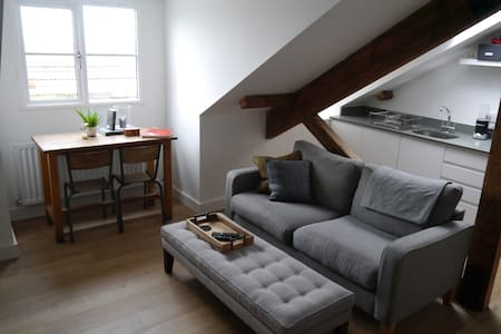 Beautiful flat in Clifton with city wide views. - Bristol - Lakás