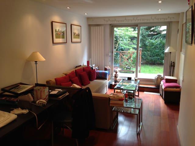 Appartement avec jardin privatif - Boulogne-Billancourt - Ev