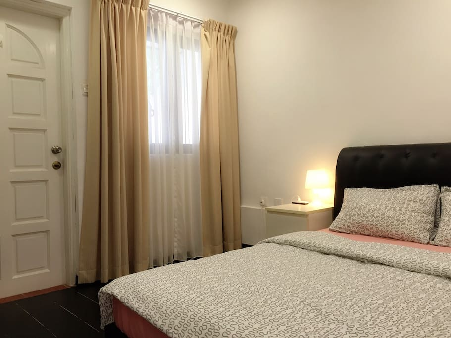 One of 2 upstair bedrooms. This room has balcony