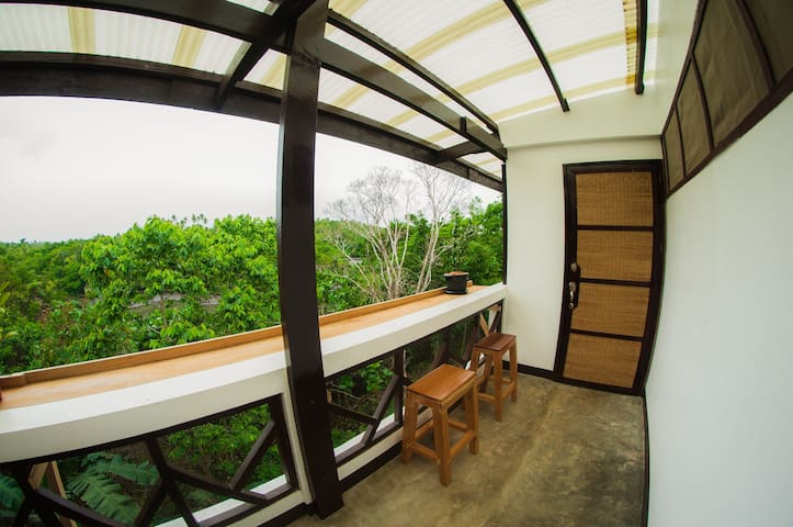 View of coffee area or smoking area