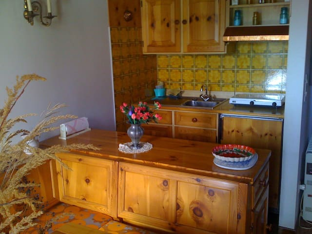 Mansarda in montagna comoda servizi - Belluno - Apartment