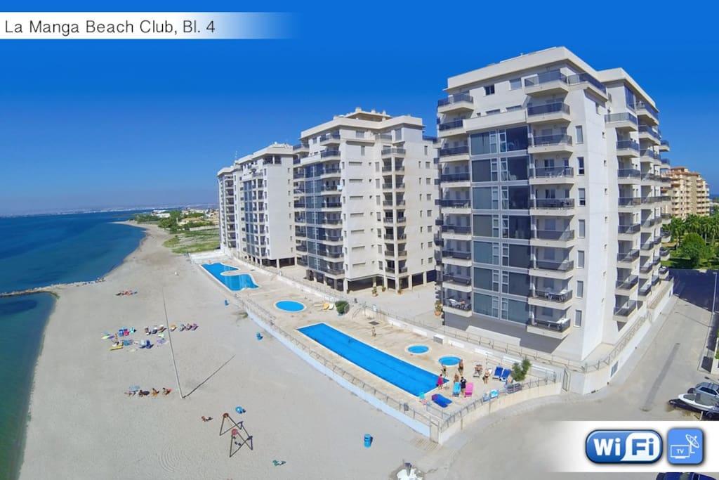 La Manga Beach Club, Veneziola - La Manga