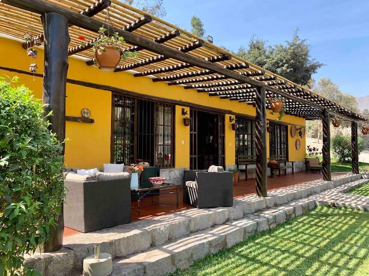 Casa de Campo Cieneguilla - Chontay