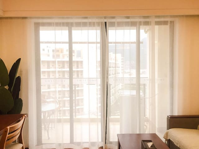 【HOSTAY·好宿】大梅沙温馨旅居双床公寓/近东部华侨城/奥特莱斯
