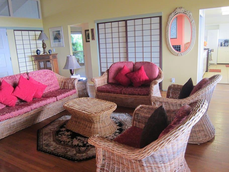 Five  sofas  + three BIG  chairs