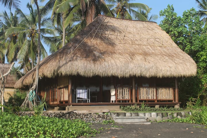 Bali Secluded Beach Front Bungalow - Selemadeg - Banglo