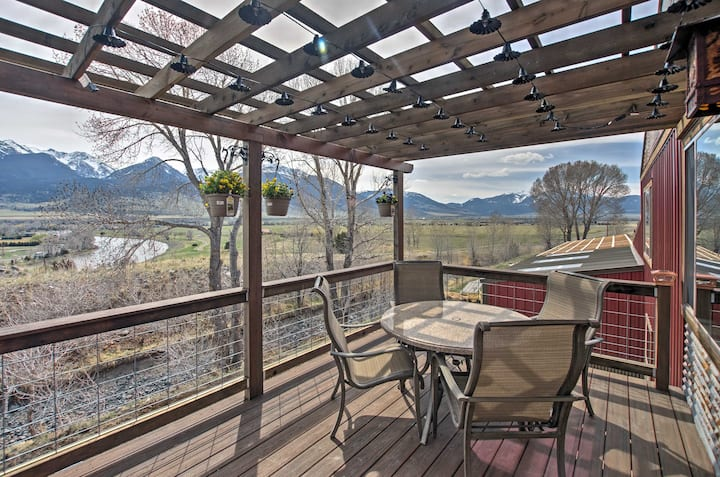 Livingston Apt w/Paradise Valley Mtn & River Views