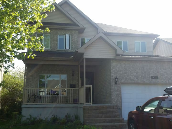 Beautiful 5 bedroom home with pool.