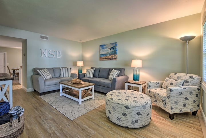 NEW! Beachside Townhome - Steps from Flagler Ave!
