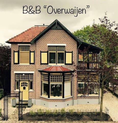 """B&B """"Overwaijen"""" in villa nabij centrum Apeldoorn"""