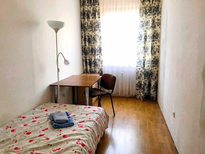 Sunny room in Bratislava