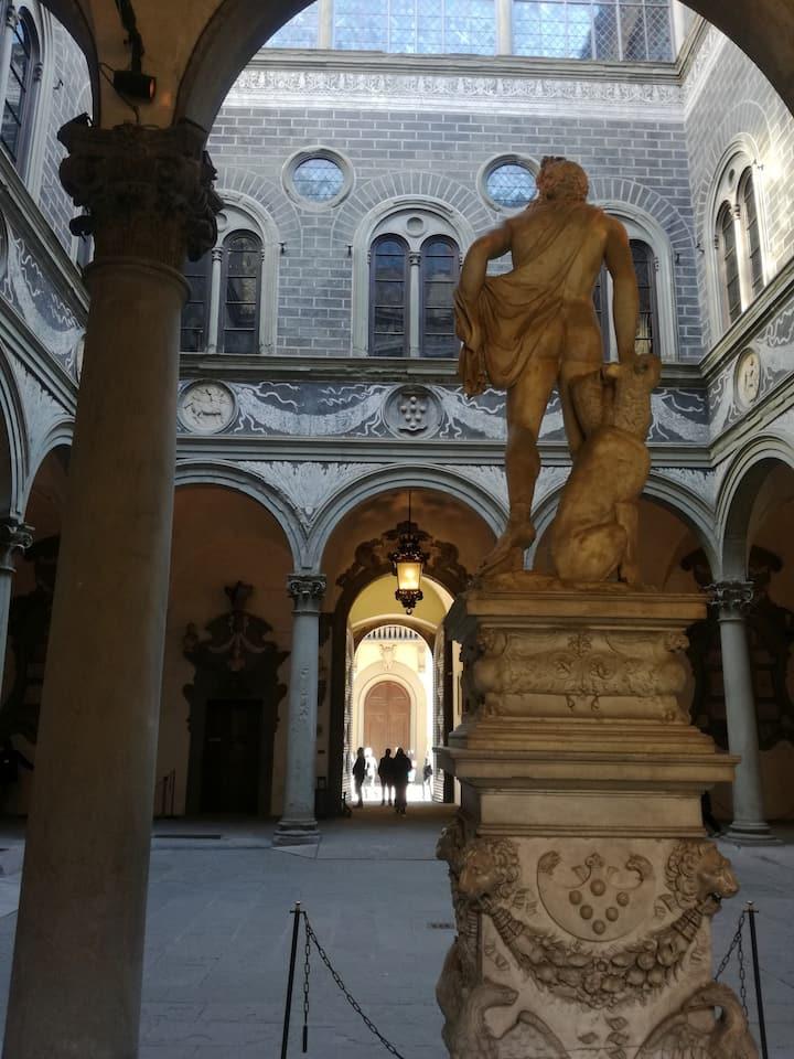 Michelozzo's Courtyard