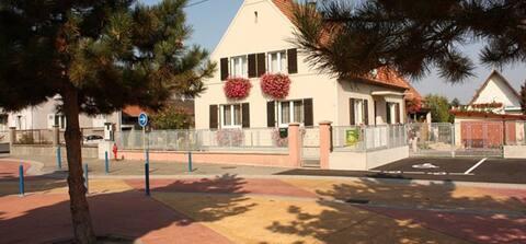 Schönes Haus im Herzen von Elsass