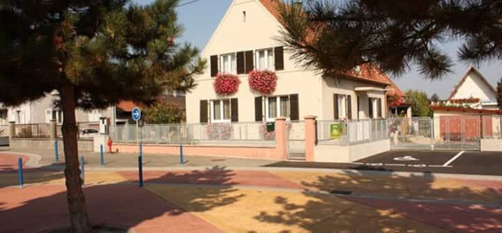 Belle maison au coeur de l'Alsace