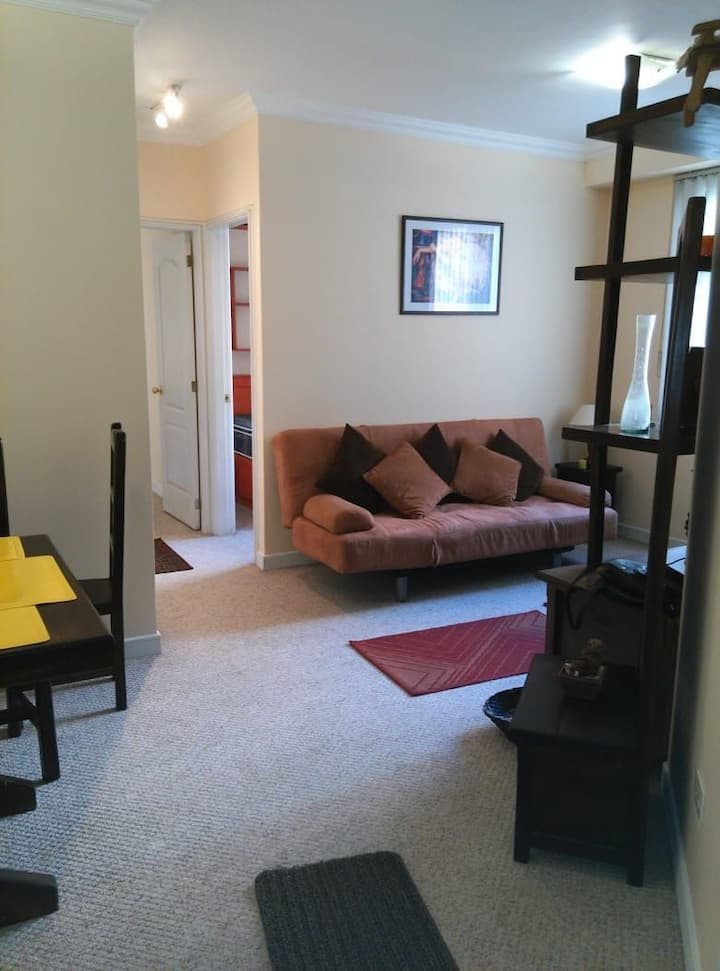 Two-bedroom condo in downtown Quito