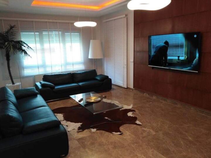 Luxueux appartement aux jardins de Carthage