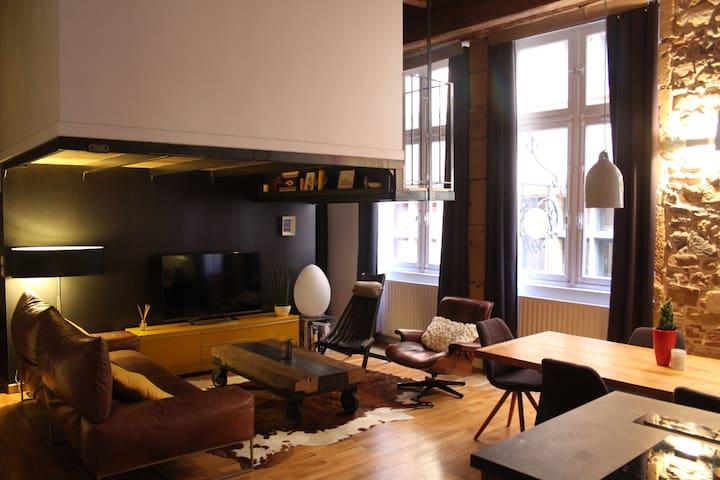 Appartement atypique - Lyon - Apartamento