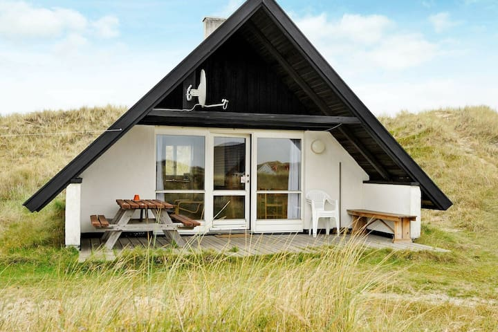 Maison de vacances paisible avec terrasse à Ringkøbing
