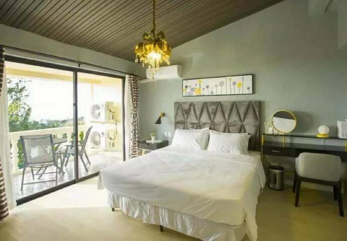 【塞班岛】海边度假温馨大床房