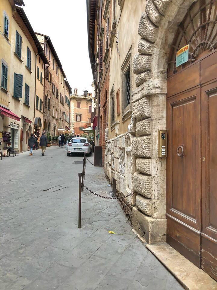 Historico apartamento en Montepulciano